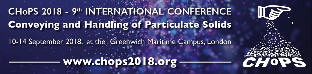 The International Conference on Conveying and Handling of Particulate Solids (CHoPS)