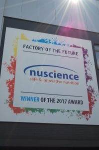 On the facade it can be seen that Nuscience is proud of the title.