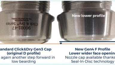 Lower Product Build-Up On Your Spray-Dry-Nozzle Caps