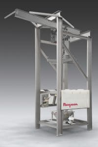Sanitary Bulk Bag Discharger With Open Channel Construction
