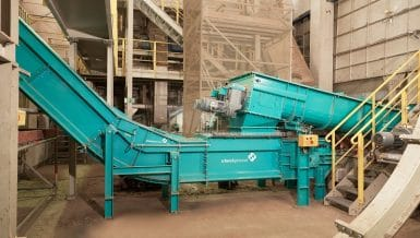 Chain Conveyors and Bucket Elevators Provide Smooth Material Flow