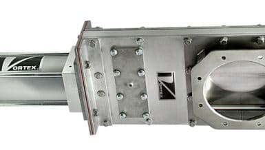 Vortex Clear Action Gate Designed for Airlocks