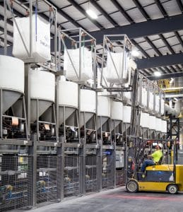 Automated Bulk Batching and Storage System Provides High Accuracy