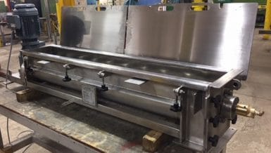 Ajax Continuous Mixer for Chocolate Production