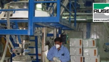 Ultrasonic Sieve System for Powder Coatings
