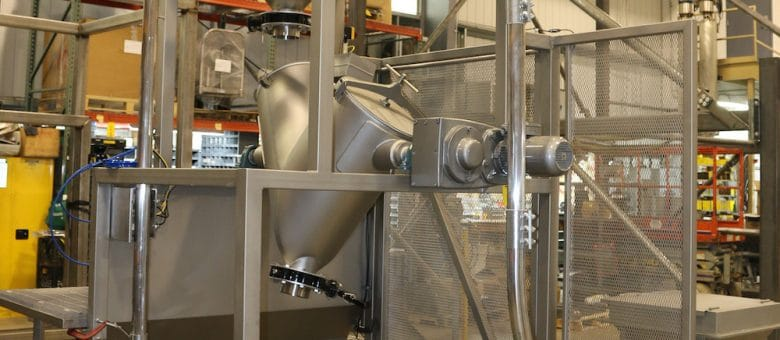 Dry Pickle Spice Conveying & Blending System