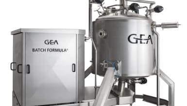 The BATCH FORMULA® Mixer from GEA