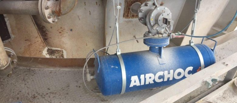 Air Cannon in Different Bulk Processes