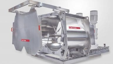 Hygienic Multiflux® GMS Mixers Form Fluidized Bed for Gentle, Fast, Quality Mixing
