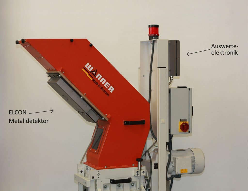 Metal Detector Protects Wanner Granulators From Damage