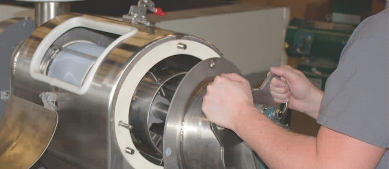 New MUNSIFTER™ Centrifugal Sifter from Munson Machinery