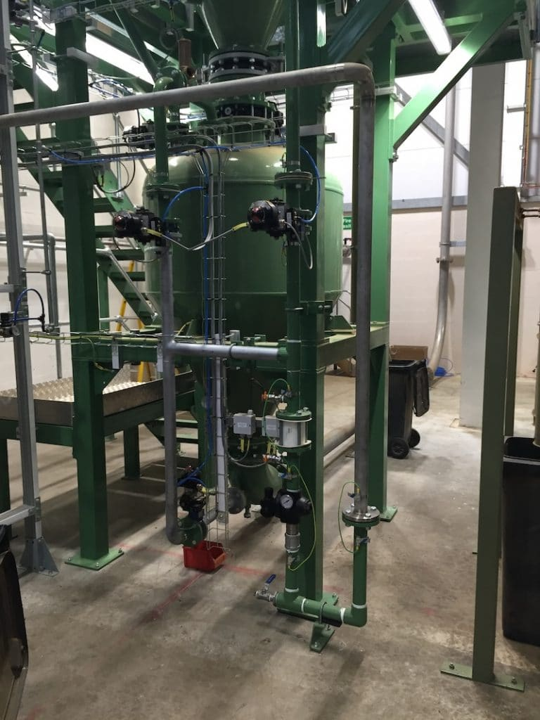 WBL Engineering - Pneumatic Conveying - ELeather - Case Study - Process Technology