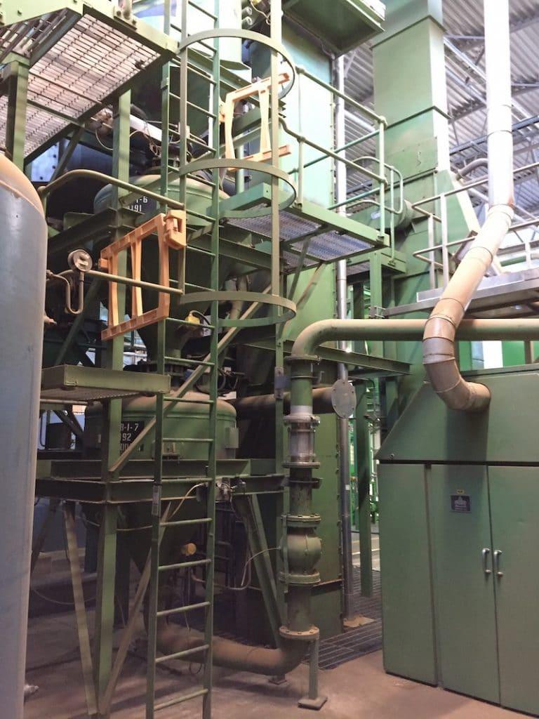 WBL Engineering - Pneumatic Conveying - ELeather - Case Study - Process Technology - Pneumatic conveyor