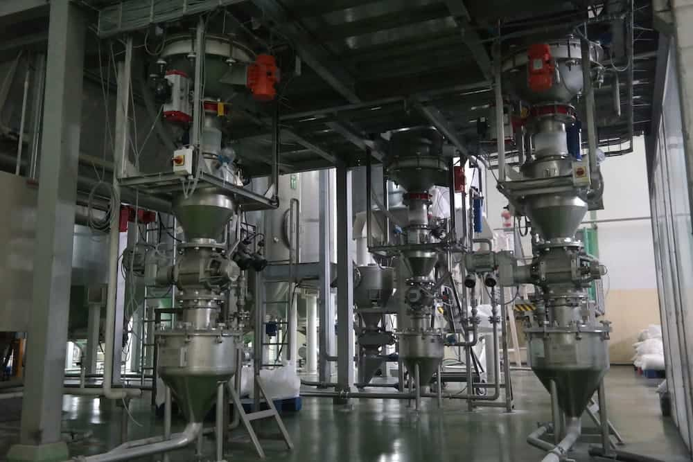 Food Processing Equipment - Pneumatic Conveying