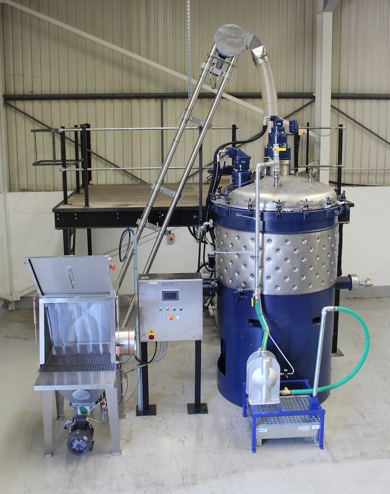 Spiroflow Conveyor Solution Improves Workflow Efficiency at Chemique Adhesives