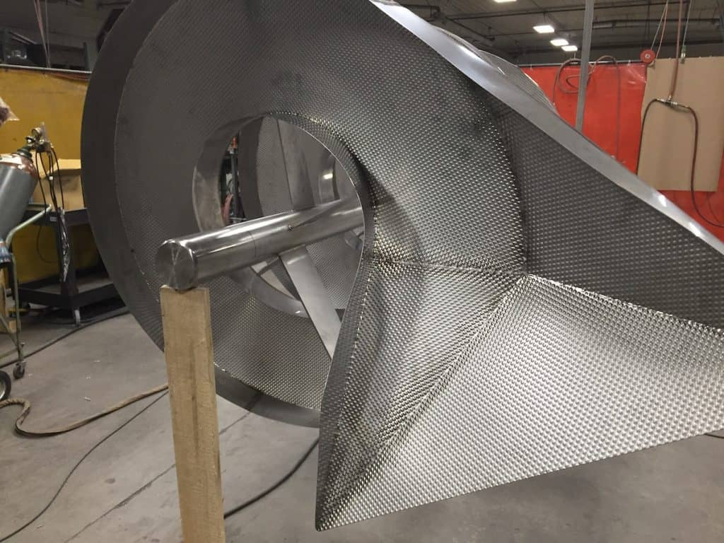 Spiral Chutes For Many Major Food Processing Companies
