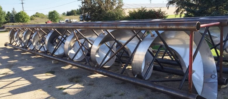 Carbon And Stainless Steel Spiral Chutes For Many Major Food Processing Companies