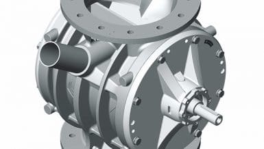 Design Innovations to Coperion's ZV Rotary Valve