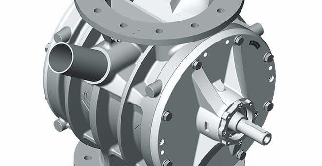 Design Innovations to Coperion's ZV Rotary Valve