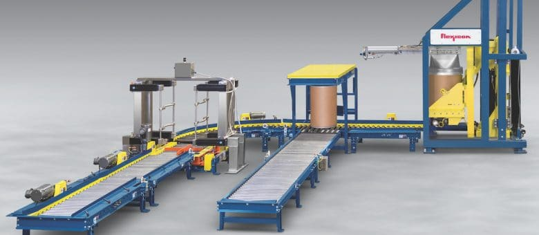 Fibre Drum Dumping System Conditions, Discharges