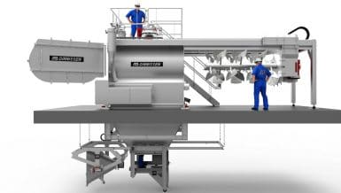 New Version of the Pegasus® Mega-Mixer Offers Great Chances for Food Producers
