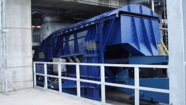 General Kinematics Petroleum Coke Dewatering System
