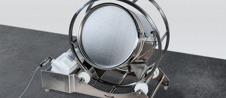 Drum Hoop Mixer with new Hygienic Design