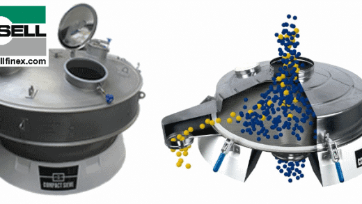 Round Vibrating Screener for Chemical Manufacturers