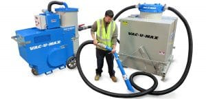 VAC-U-MAX Introduces New Continuous-Duty Industrial Vacuum Cleaner ̶ Model 1050 Doubles the Suction Power and Vacuums up to 10,000 lbs/hr (4,500 kg/hr) of Heavy & Abrasive Materials including Steel Shot, Grit, Foundry Sand and Cement