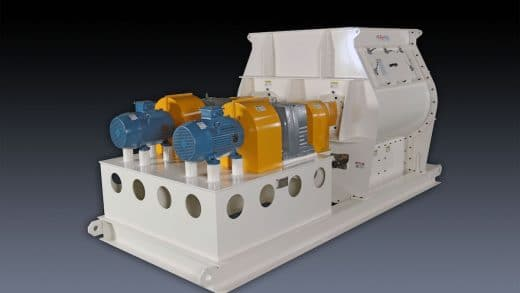 Twin Shaft Paddle Mixer For Cement-Based Building Materials