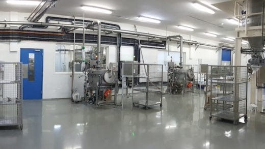 Dry Materials Automated Tipping, Conveying and Dosing for Cake Mix Manufacturing