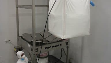 Bulk Bag Unloaders for Powders and Granular Materials