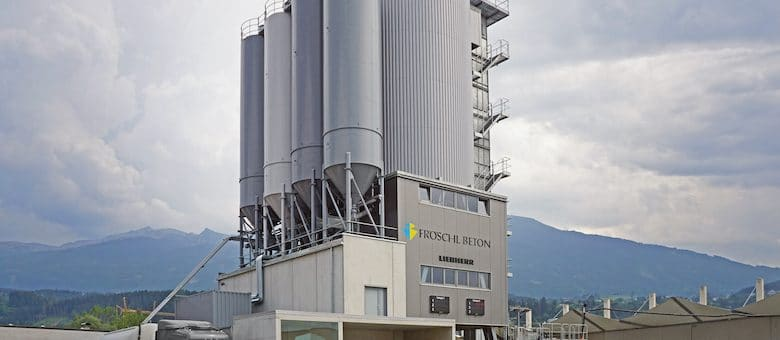 State-of-the-Art Concrete Mixing Tower from Liebherr Covers the Entire Concrete Logistics Chain