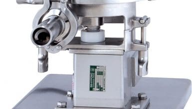 Acrison Model 170-Mi-5 Volumetric Feeder Provides Highly Accurate Metering of Dry Solids at Lowest Possible Feed Rates