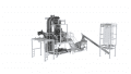 Explosion-Proof Mini Z Conveyor for Gently Transporting Powders, Grains and Granulates