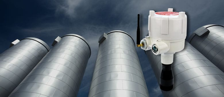 Laser Level Sensor Installs Without Wiring