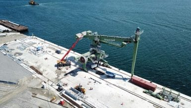 Siwertell Unloader Delivered to New Agri-bulk Terminal in Mexico