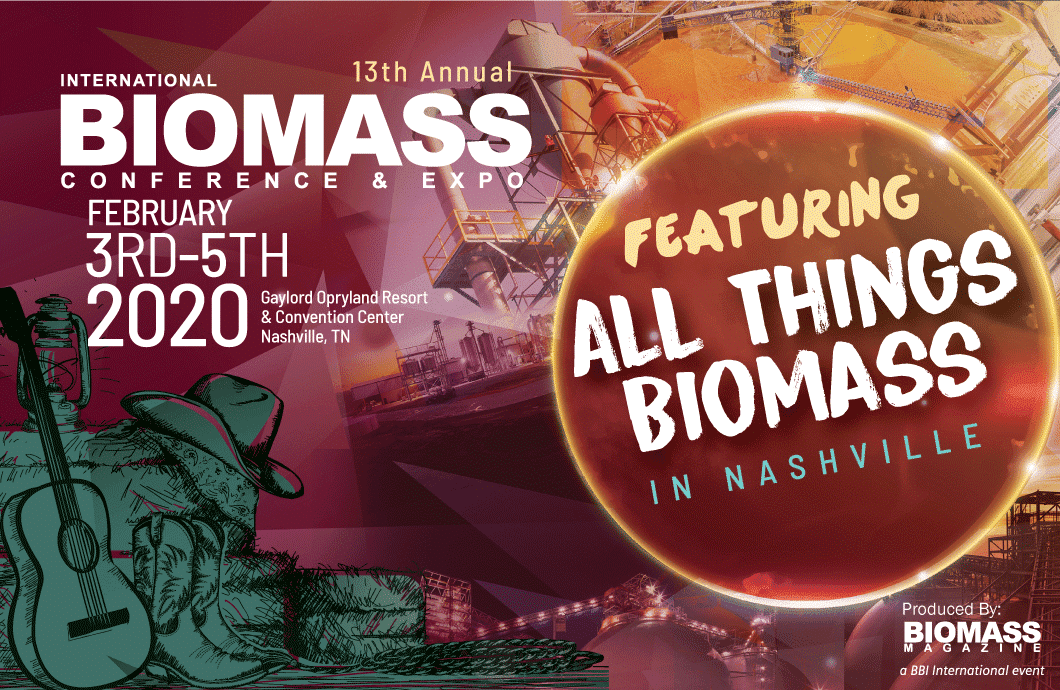 Nashville Fair 2020.International Biomass Conference Expo 2020 Bulkinside
