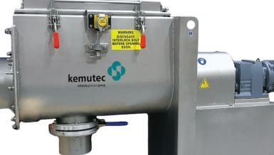 Rapid and Efficient Mixing of Powders and Granular Materials