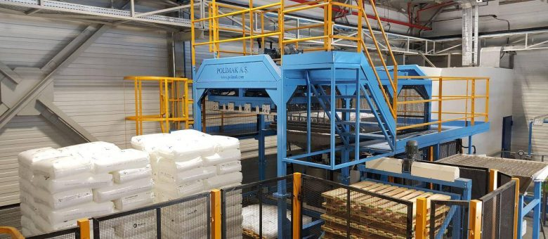 Polimak Automatic Sack Discharge and Extruder Feeding System