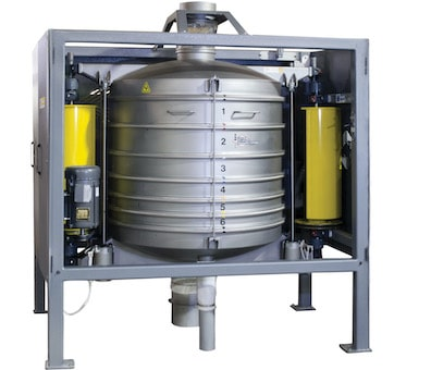 Great Western QA36 In-Line sifter
