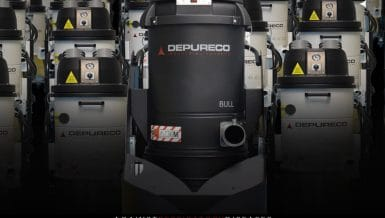 The Depureco Bull Uno efficient HEPA filtration mitigates potentially dangerous situations for workers and business owners.
