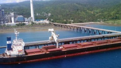 Quezon specifies enclosed Siwertell ship unloader for new power plant