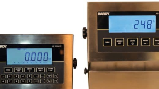 New Hardy HI8000IS Intrinsically Safe Weighing Instruments