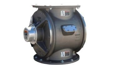 Heavy Duty Airlock for Pneumatic Conveying Systems