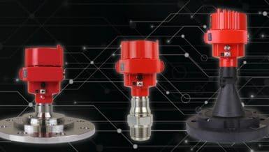 Custom-Configured 80 GHz Non-Contact Radar Level Sensors