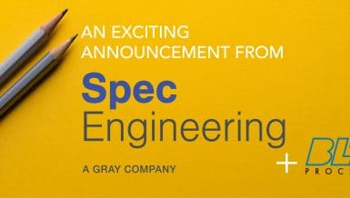 Spec Engineering Strengthens Offerings for the Food & Beverage Market