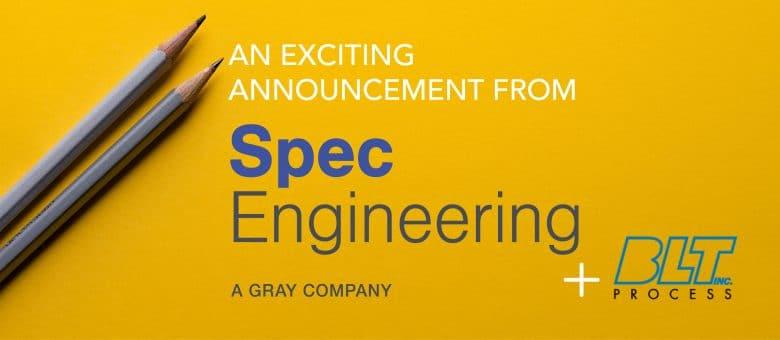 Spec Engineering Strengthens Offerings for the Food & Beverage Market