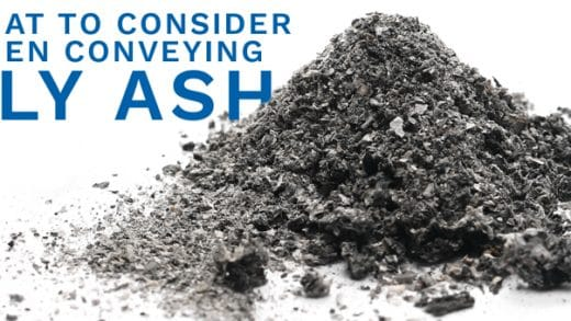 What To Consider When Conveying Fly Ash
