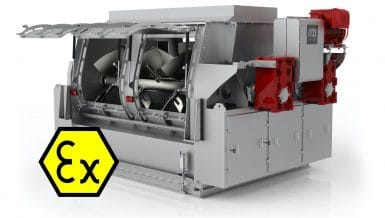 New ATEX certification for Pegasus® Mixers Dinnissen Process Technology